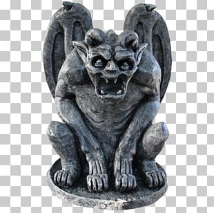 Gothic Architecture Gargoyle Boss Ornament Statue PNG