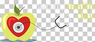 Hand Painted World Health PNG