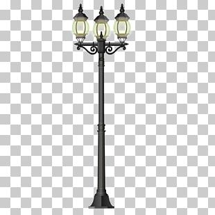 LED Street Light Lamp PNG