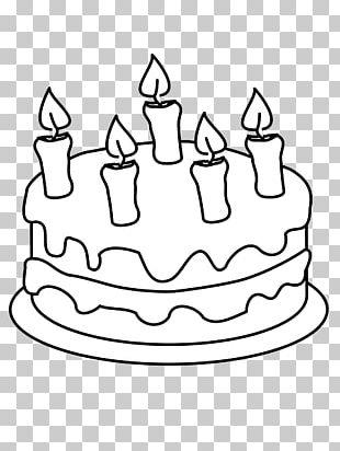 Birthday Cake Cupcake Wedding Cake Coloring Book PNG
