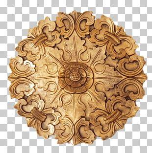 Mandala Religious Art Decorative Arts Gold Azulejo PNG