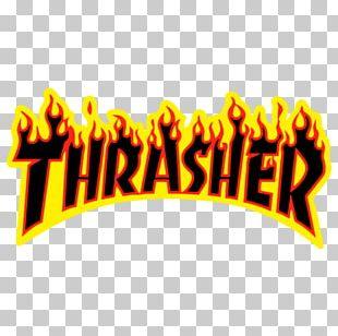 Thrasher Presents Skate And Destroy Skateboarding Sticker PNG