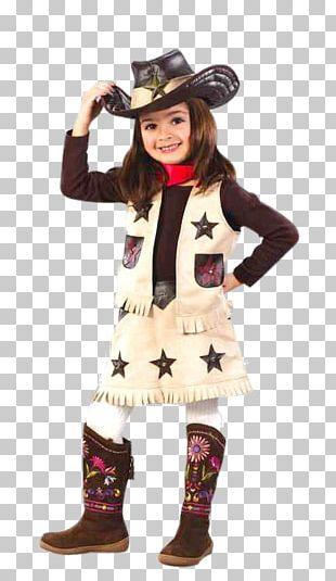 Annie Oakley Costume Party Child Cowboy PNG