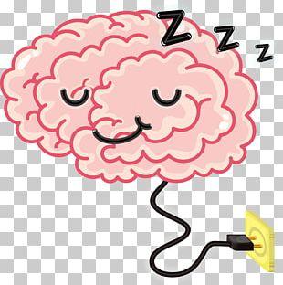 Brain Cartoon Sleep PNG