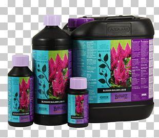 Flower Blossom Fertilisers Hydroponics Liquid PNG