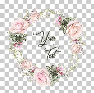Garden Roses Floral Design Wreath Flower Graphics PNG