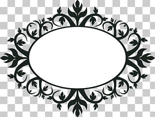 Borders And Frames Floral Ornament Frames PNG