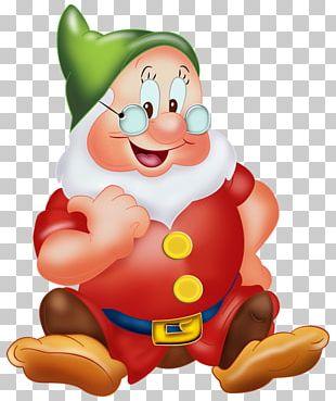 Snow White Seven Dwarfs Bashful Sneezy Dopey PNG