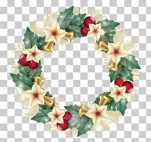 Wreath Christmas Decoration Christmas Ornament Christmas Tree PNG
