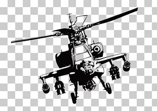 Boeing AH-64 Apache Helicopter PNG