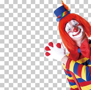 Clown April Fools Day Poster PNG