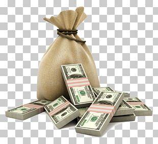 Money Bag Loan Deposit Business PNG