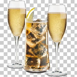 Champagne Cocktail Wine Glass Wine Cocktail PNG