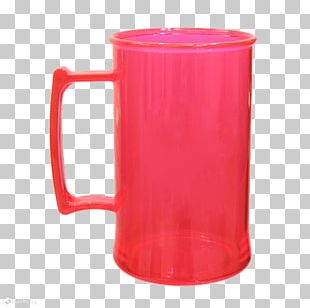 Mug Plastic Cup Milliliter Red PNG