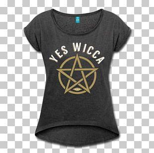 T-shirt Pentagram Pentacle Wicca Symbol PNG