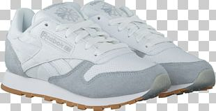 Shoe Sneakers White Leather Reebok PNG