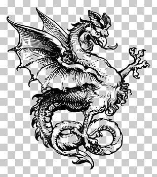 Dragon Sleeve Tattoo PNG