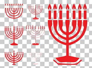 Hanukkah Menorah Judaism Illustration PNG