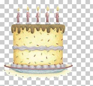 Birthday Cake Torte Greeting Card Wish PNG