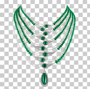 Turquoise Body Jewellery Necklace Emerald PNG
