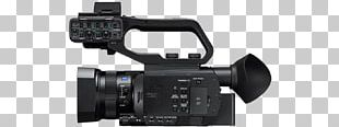 Sony NXCAM HXR-NX80 Sony XDCAM PXW-Z90V Camcorder Video Cameras PNG
