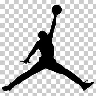 Jumpman Air Jordan Nike Logo Decal PNG
