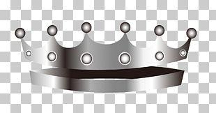 Pattern Silver Crown PNG