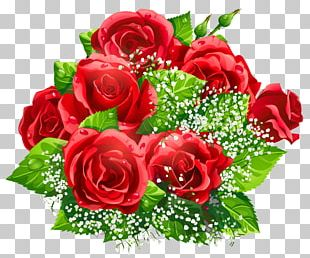 Rose Flower Bouquet Cut Flowers PNG