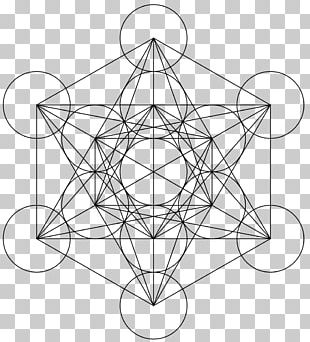 Metatron's Cube Metatron's Cube Sacred Geometry Overlapping Circles Grid PNG