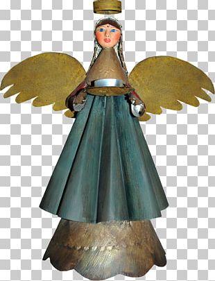 Angel Christmas Ornament Megabyte PNG