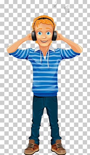 Character Cartoon Boy Illustration PNG