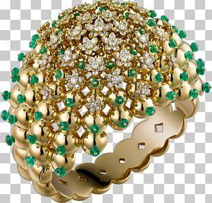 Emerald Cartier Jewellery Bracelet Brilliant PNG