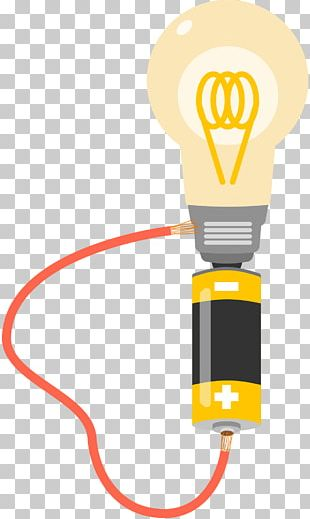 Electrical Wires & Cable Incandescent Light Bulb Battery Electricity PNG