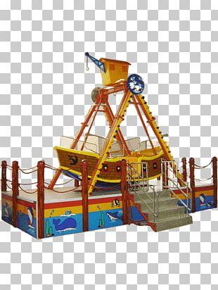 Playground Amusement Park Pirate Ship Entertainment PNG