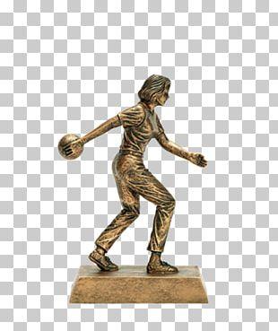 Trophy Award Bowling Commemorative Plaque Medal PNG
