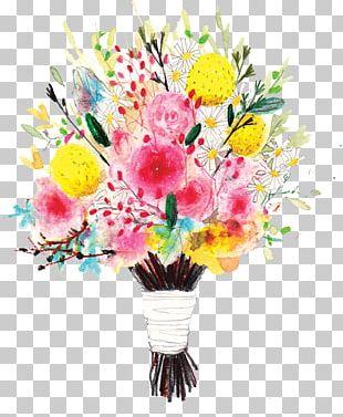 Floral Design Flower Bouquet Nosegay Illustration PNG