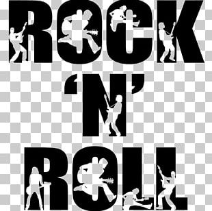 Rock And Roll Rock Music Silhouette Art PNG