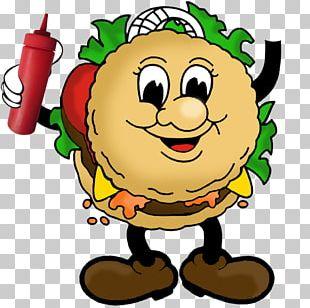 Hamburger Cheeseburger French Fries Gummy Bear PNG