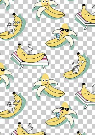 T-shirt Hoodie Duck Banana Illustration PNG