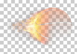 Light Basketball Flame PNG