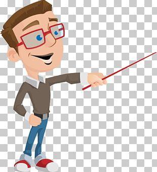 Teacher Animation School Education Cartoon PNG