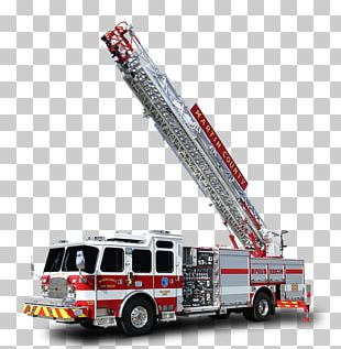 Fire Engine Fire Department Ladder E-One Firefighter PNG