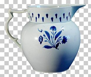 Jug Blue And White Pottery Ceramic Cobalt Blue PNG