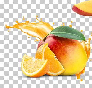 Juice Cocktail Organic Food Mango Fruit PNG