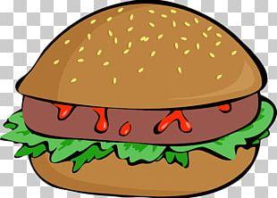 Hamburger Veggie Burger Cheeseburger French Fries Fast Food PNG