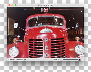 Antique Car Truck Fire Engine Motor Vehicle PNG
