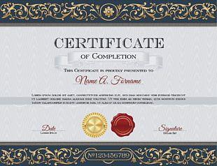 Academic Certificate Diploma PNG