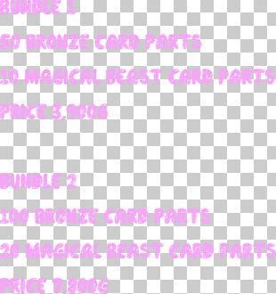 Paper Line Pink M Point Font PNG