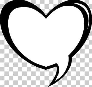 Speech Balloon Heart Bubble PNG