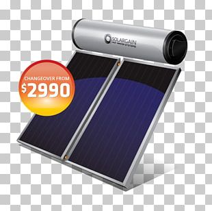 Solar Water Heating Solar Power Solar Thermal Collector Solar Energy PNG
